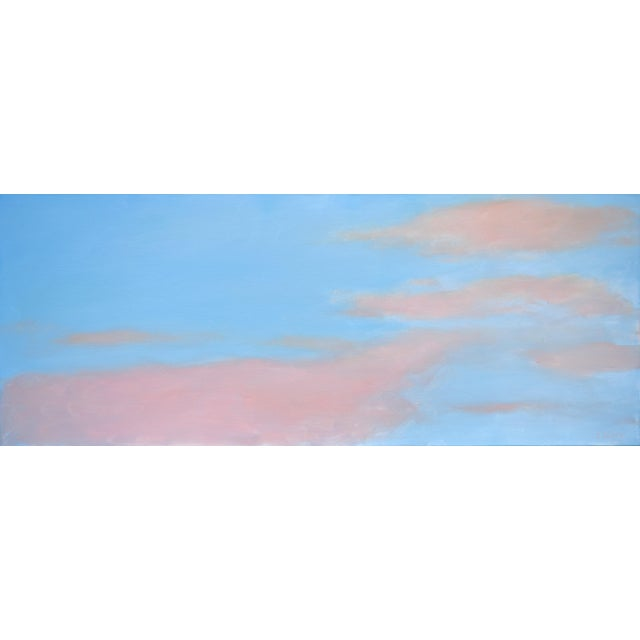 """Stephen Remick """"Morning Clouds"""" Contemporary Painting For Sale - Image 10 of 10"""