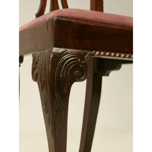 Eighteenth Century Hand-Carved Irish Chippendale Side Chair For Sale - Image 10 of 10