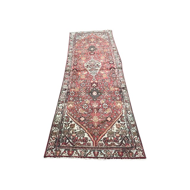Hamadan Persian Rug - 2′11″ × 9′5″ - Image 1 of 8