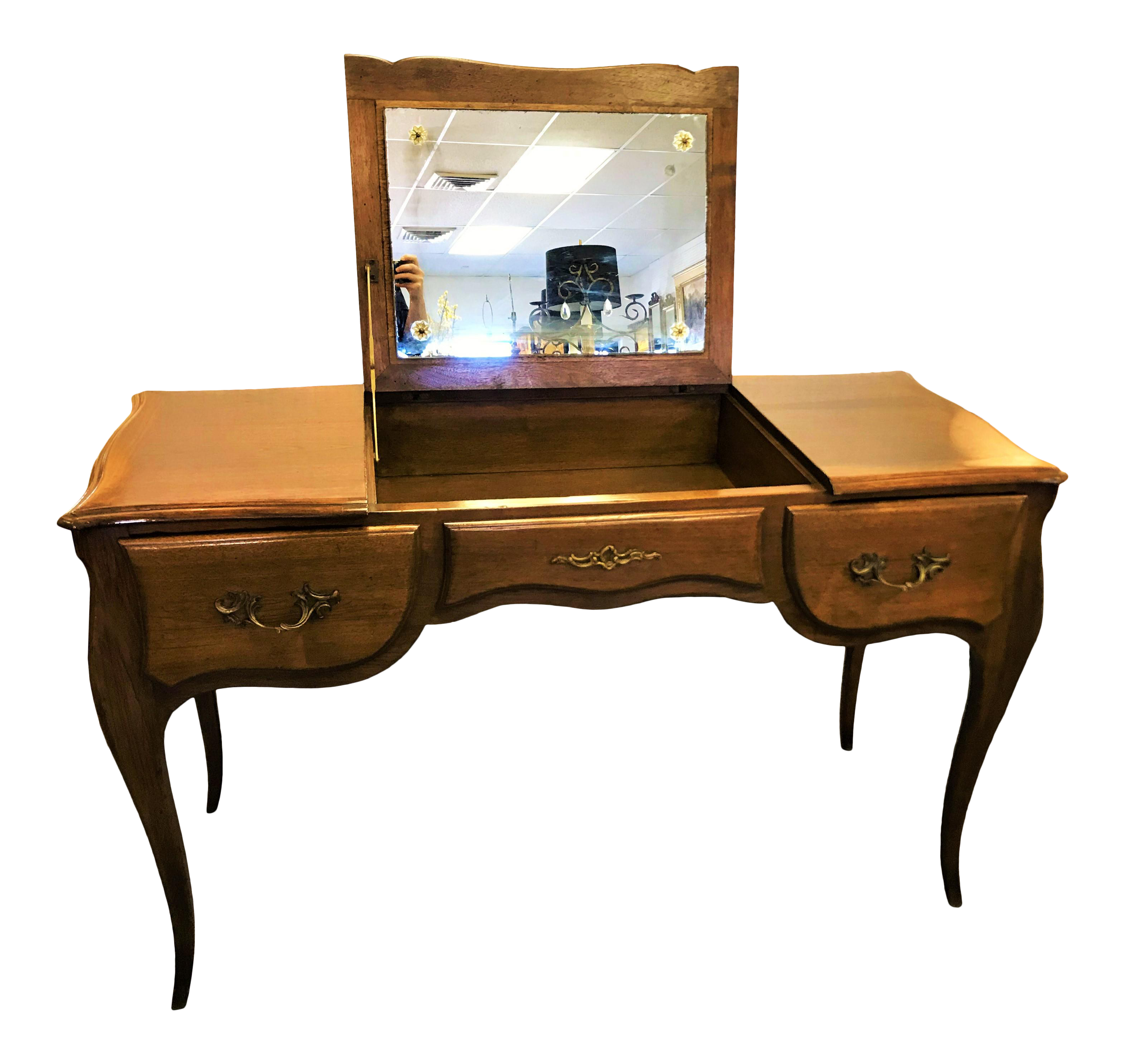 Vintage Used Vanities With Mirrors For Sale Chairish