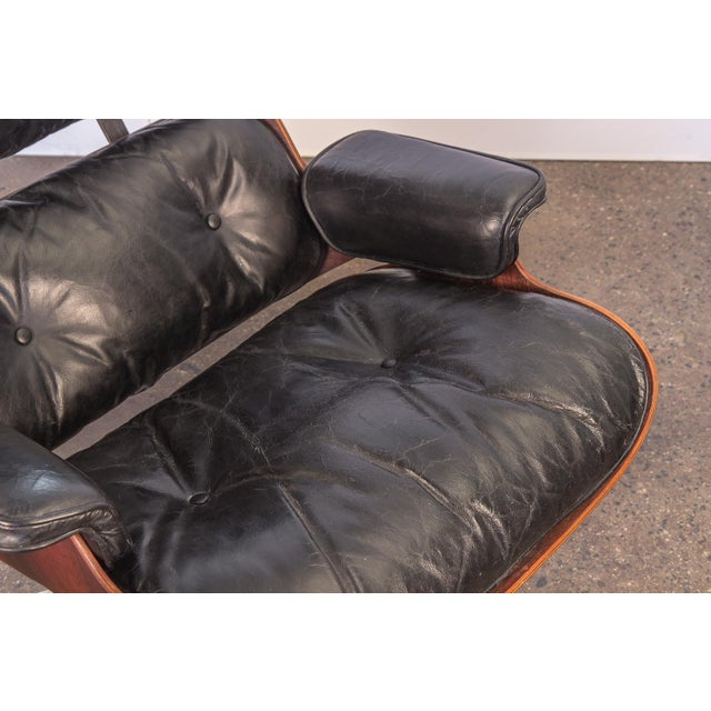Contemporary Second Generation 1960s Eames 670 Lounge Chair for Herman Miller For Sale - Image 3 of 11