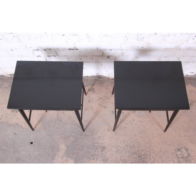 Paul McCobb Planner Group Nightstands or End Tables - a Pair For Sale - Image 10 of 12