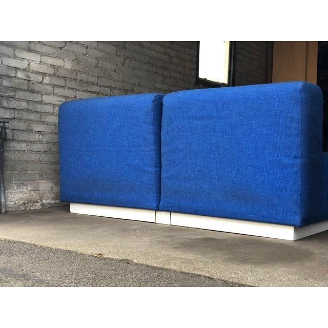 Vintage 1972 Knoll Modular Sectional Sofa For Sale - Image 11 of 13