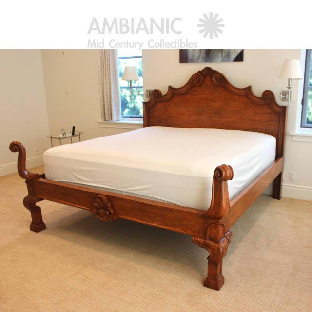 Exquisite Michael Taylor Designs Italian Bed King Size Venetian