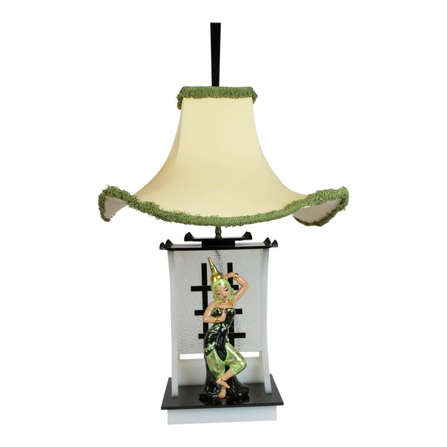 Siamese Dancer Moss Lamp For Sale