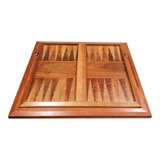 Vintage Wood Specimen Game Board For Sale