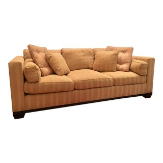 Modern Barbara Barry for Baker Upholstered Sofa For Sale
