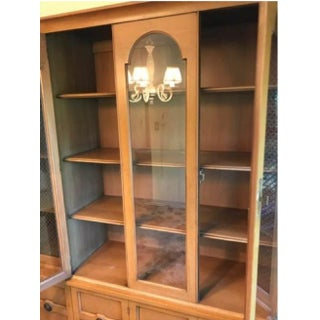 1950's Vintage Mt. Airy China Cabinet Preview