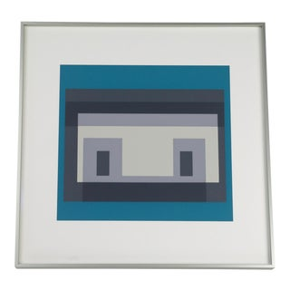 Josef Albers Variant III Screenprint For Sale