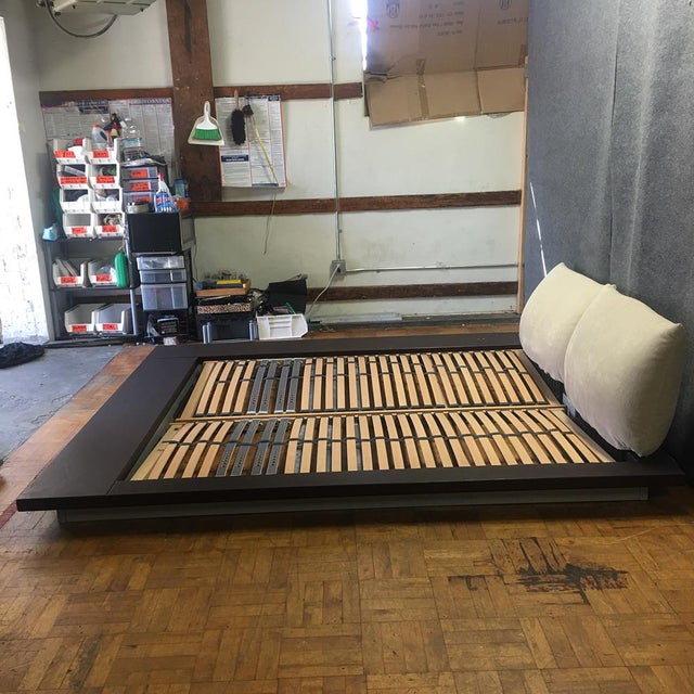 Ligne Roset Peter Maly Queen Bed For Sale In Los Angeles - Image 6 of 9