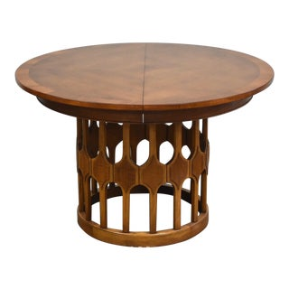 Harvey Probber Style Round Dining Table For Sale