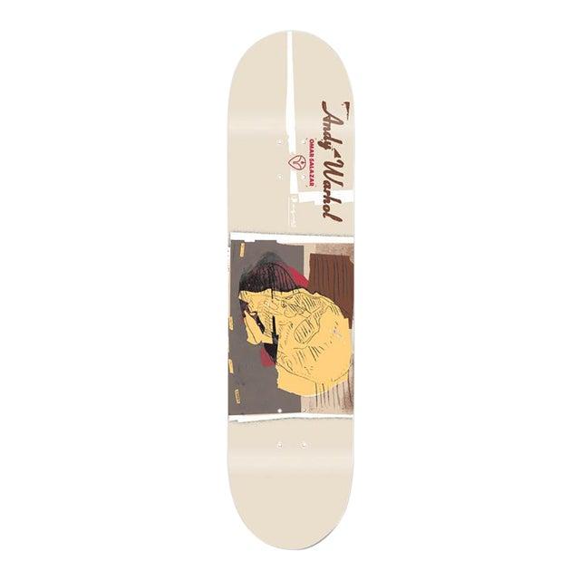 Andy Warhol Skull Skateboard Deck For Sale