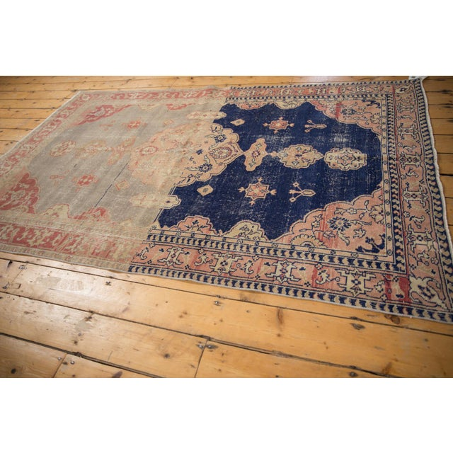 """1950s Vintage Distressed Sivas Rug - 4'10"""" X 7'7"""" For Sale - Image 5 of 12"""