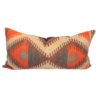 Early 20th Century Geometric Navajo Saddle Blanket Bolster