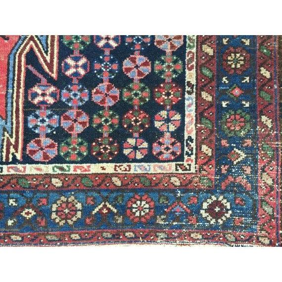 "Vintage Persian Rug - 4'2"" X 6'3"" - Image 5 of 7"