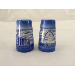 Mid-Century Missouri Souvenir Salt & Pepper Shakers - A Pair Preview