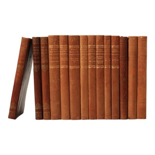 Scandinavian Leather-Bound Books S/14