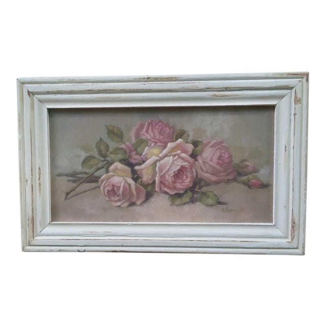 Christie Repasy Shabby Chic Roses Painting - Image 1 of 5