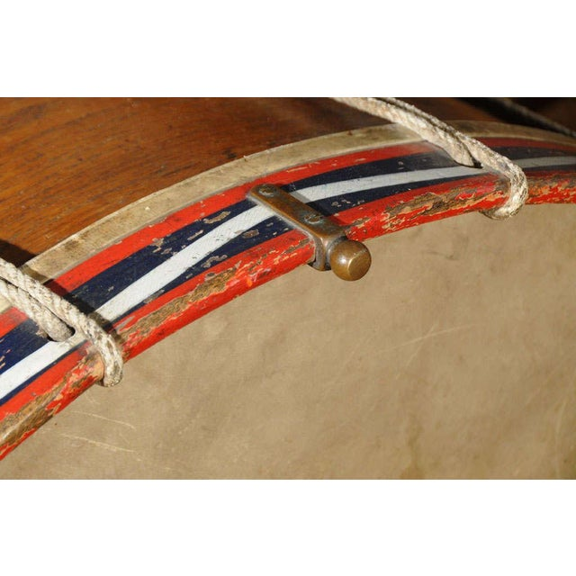Antique French Military Tambour or Drum For Sale - Image 4 of 7