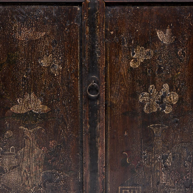 Chinese Four Seasons Painted Coffer For Sale - Image 9 of 13