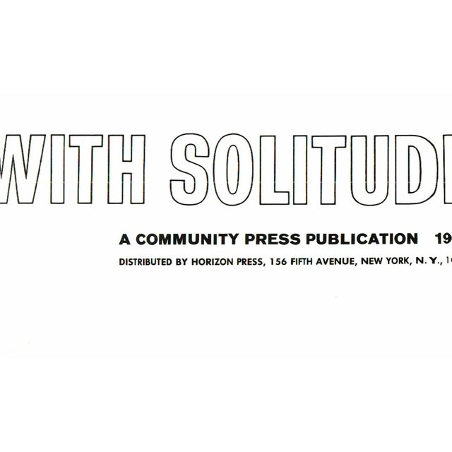 A Dialogue with Solitude - Image 3 of 5