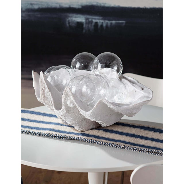 Originally purchased at an estate sale and then replicated in resin our Bimini clam shell accessory makes a statement. Its...