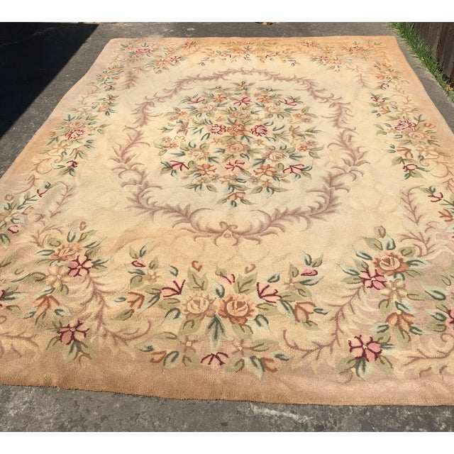 "Traditional Gorgeous Vintage Rug - 8'4"" X 11'8"" For Sale - Image 3 of 4"