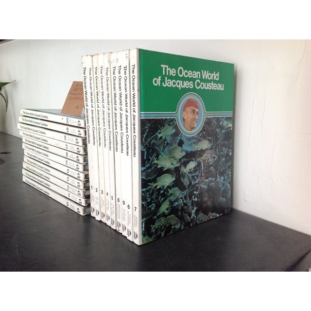 Vintage Jacques Cousteau Volume Books - Set of 20 - Image 2 of 6