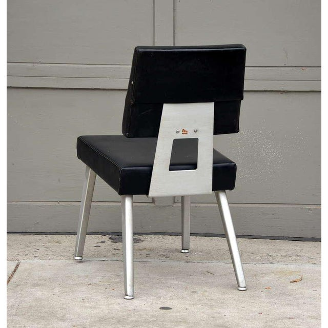 General Fireproofing Company Pair of Vintage Gf GoodForm Aluminum Task Chairs For Sale - Image 4 of 10