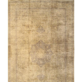"Pasargad N Y Antique Tutkish Tabriz Design Hand-Knotted Rug - 12' X 19'2"" For Sale"