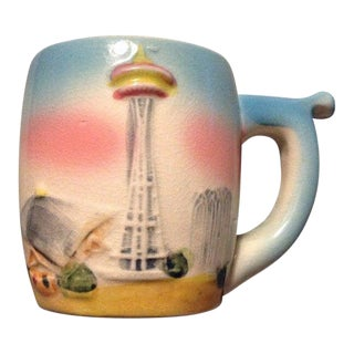 Vintage Seattle World's Fair Whistle Mug