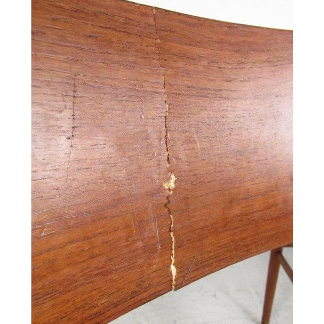 Brown Set of Mid-Century Modern Bentwood Dining Chairs For Sale - Image 8 of 9