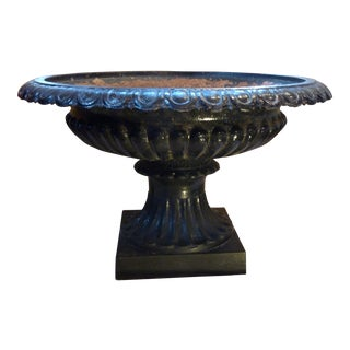 19th Century Classical Iron Planter For Sale