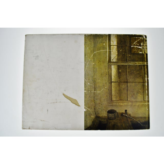 Old Coffee Table Books: Vintage 1968 Andrew Wyeth Art Coffee Table Book
