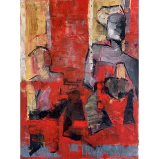 Cubist Figure Painting For Sale