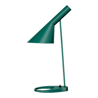 Arne Jacobsen 'Aj Mini' Table Lamp in Dark Green for Louis Poulsen For Sale