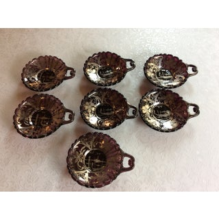 Early 20th Century Art Deco Style Murano Dessert Service for 6 - Set of 7 Preview