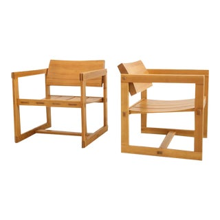 Trybo Series Lounge Chairs by Edvin Helseth Norwegian - a Pair For Sale