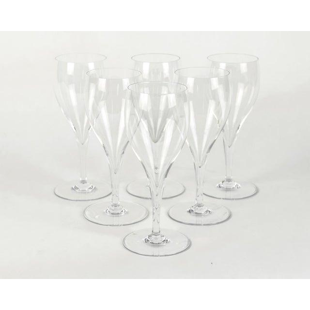 Crystal Vintage Baccarat Crystal Wine Glassware Set Six For Sale - Image 7 of 7
