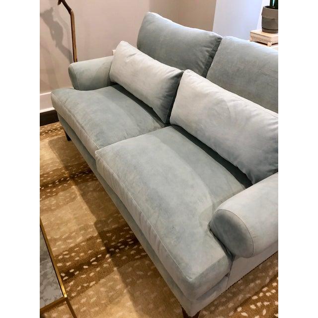 Custom Robin S Egg Blue Sofa Chairish