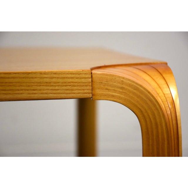 Alvar Aalto Scalloped Coffee Table for Artek For Sale - Image 9 of 11