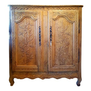 19th Century French Pine Cupboard For Sale