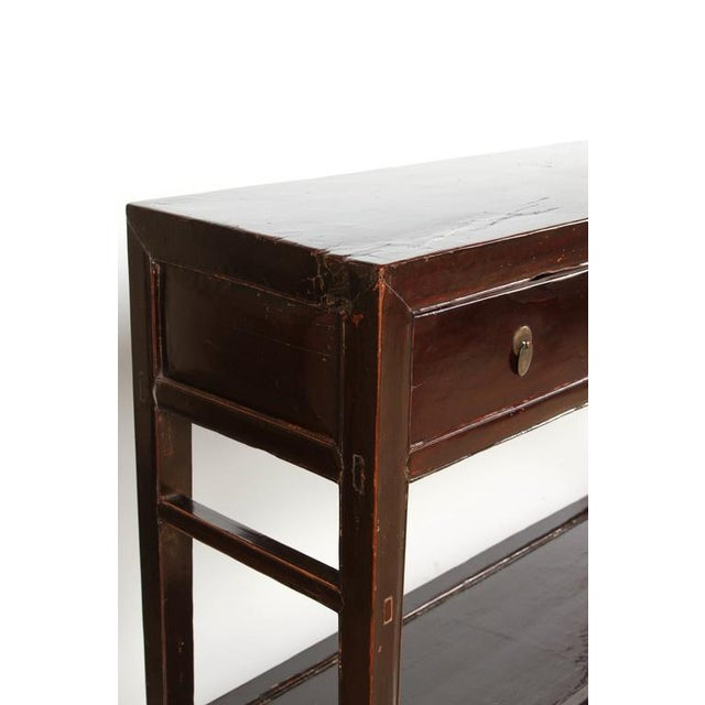 18th Century Five-Drawer Chinese Scholar's Table For Sale In Los Angeles - Image 6 of 10