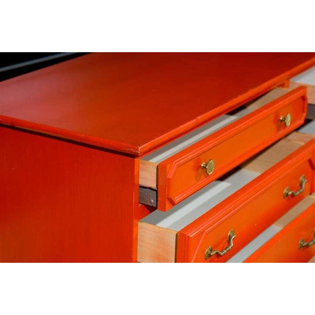 1970s Wonderful Vintage Ficks Reed 8 Drawer Chest/Buffet For Sale - Image 5 of 9