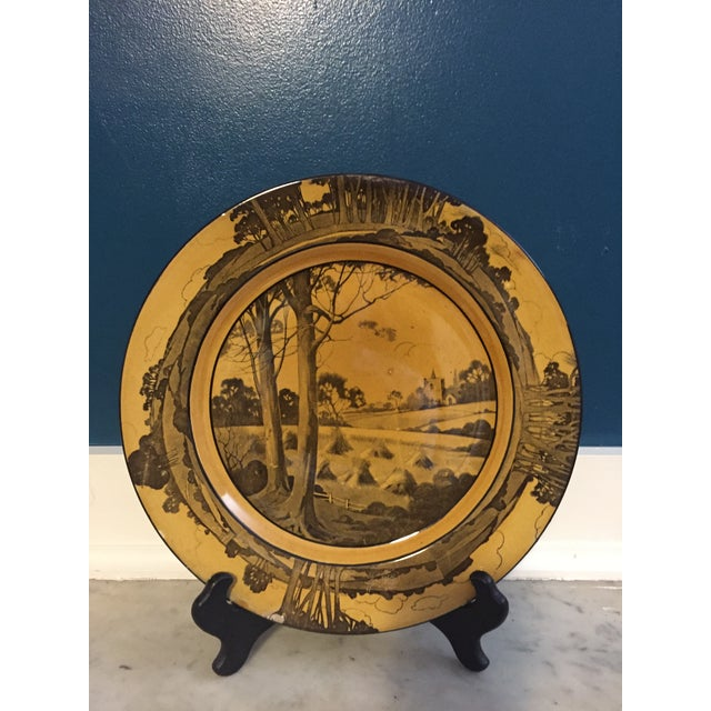 Arts & Crafts Plate by Royal Doulton - Image 2 of 4