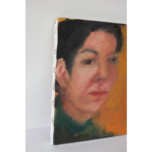 Portrait of a Woman Painting by Janet Mamon - Image 4 of 7