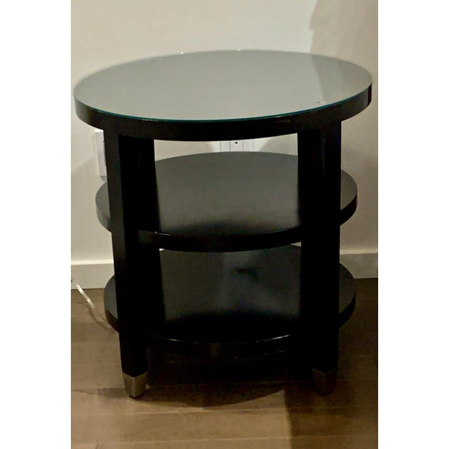 2010s Side Tables From Gumps - a Pair For Sale - Image 5 of 9