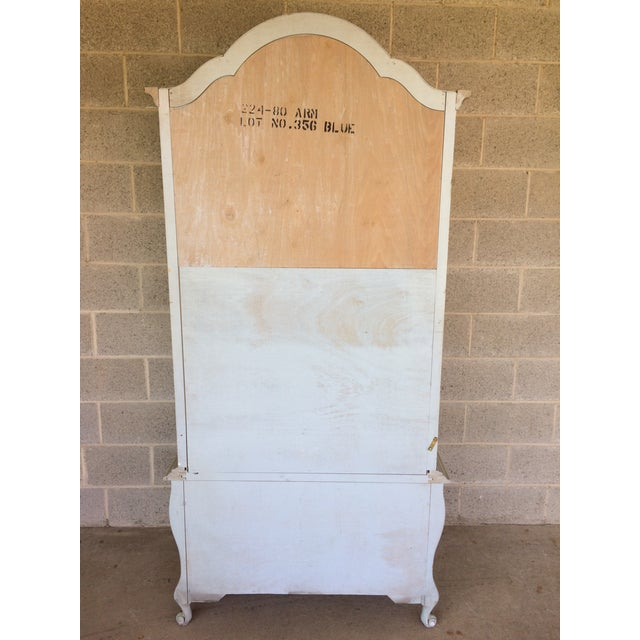 Hickory White French Provincial Armoire For Sale - Image 10 of 11