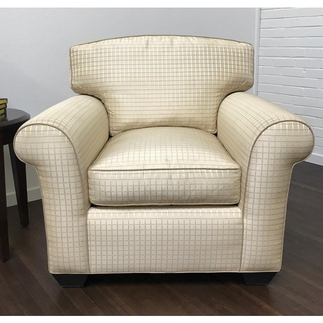 Country RJones Oxford Lounge Chair For Sale - Image 3 of 9