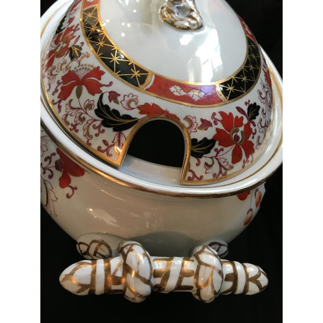 Ashworth Ironstone Final Markdown 19th C. Ashworth Soup Tureen & Underplate For Sale - Image 4 of 10